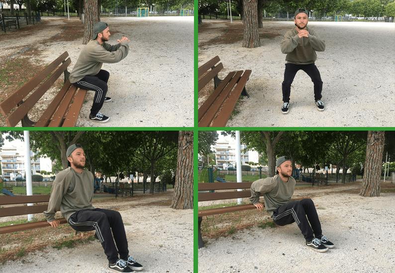 Renforcement musculaire : 3 exercices à faire dans un parc