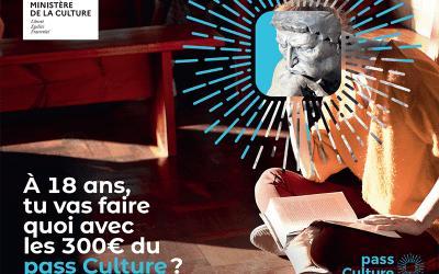Pass Culture : 300 € offerts pour vos 18 ans