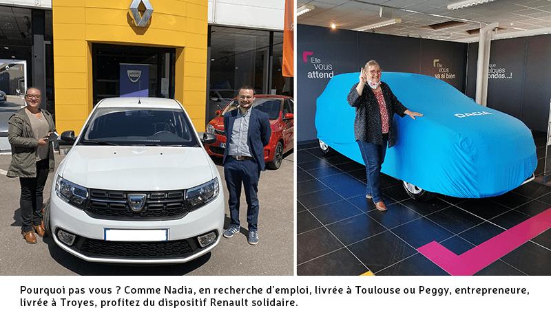 Renault solidaire : en route vers l'emploi